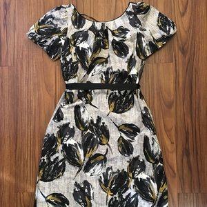 REBECCA TAYLOR |  tulip silk dress